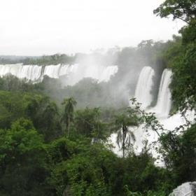 The Iguazu Falls are a popular attraction for Projects Abroad volunteers outside of their project work.